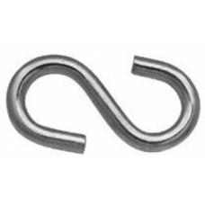 Крючок SKT  8 мм, S-образный, (упак-100/400 шт) ТК