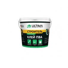 Клей ПВА СТРОИТЕЛЬ, 0,9 кг , (упак-12 шт) ULTIMA