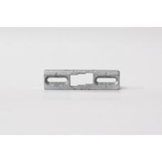 Ответная планка под фурнитурный паз  9 мм, для V100.200.19/V101.150.16, (упак-10 шт)