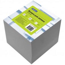 Блок для записи на склейке OfficeSpace, 9*9*9см, белый КБ9-10 Бп