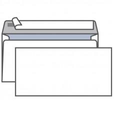 Конверт E65, KurtStrip, 110*220мм, с подсказом, б/окна, отр. лента, внутр. запечатка, термоусадка EK65.15.25