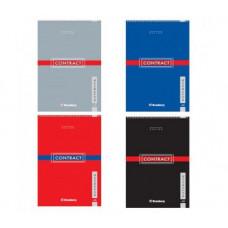Блокнот А5 80 л, BRAUBERG «Contract», евроспираль