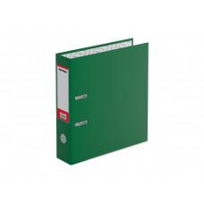"""Папка-регистратор Berlingo """"Mega Top"""", 70мм, бумвинил, с карм. на корешке, нижн. метал. кант, зеленая ATb_7050"""