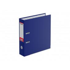 """Папка-регистратор Berlingo """"Mega Top"""", 70мм, бумвинил, с карм. на корешке, нижний метал. кант, синяя ATb_70502"""