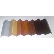 Уголок ПВХ 962, текстурный, 25*25*2700 мм, ДУБ МАРМАРИС, (упак-25 шт)