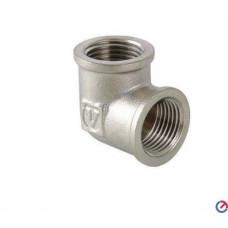 Угольник DN15 ВР/ВР, никелированный, VRT