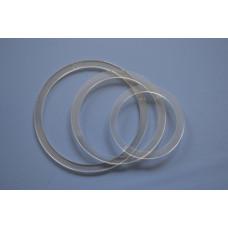 Термокольцо протекторное D70 мм, ПРОЗРАЧНОЕ, (упак-200 шт)
