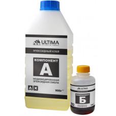 Клей эпоксидный на основе эпоксидной смолы, 1000 мл, ULTIMA
