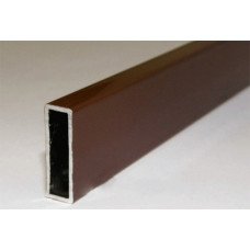 Профиль поперечный под шнур, КОРИЧНЕВЫЙ, L=6000 мм, (упак-120 пог.м)