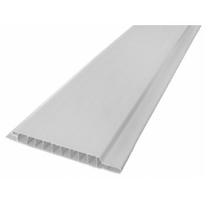 Панель ПВХ 100*3000*10 мм, белая, МАТОВАЯ, (упак-10 шт)