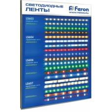 Лента светодиодная LS606 90/60W 60SMD(5050)/m14.4W/m 12V 5 м, с драйвером,БЕЛЫЙ, IP 20, FERON