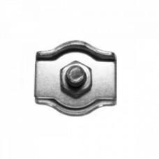 Зажим для тросов C-SWR  6, одинарный (упак-100/200 шт)