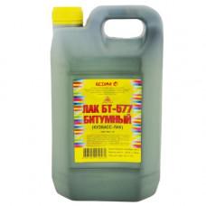 Лак битумный БТ-577, 1 л (упак- 12/20 шт) КУЗБАССЛАК
