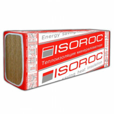 Минплита ISOROC ИЗОЛАЙТ Л,   50*600*1000 мм, 40 кг/куб.м, уп-8 шт, (4,8 кв.м/0,24 куб.м)