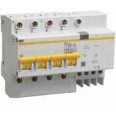 Дифференциальный автоматический выключатель АД14 4Р 40А 30мА, ИЭК
