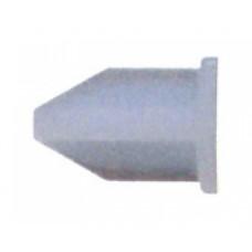 Крепление торца, БЕЗ ФИКСАТОРА, пластиковое, БЕЛЫЙ, (упак-672 шт) BAVIERA