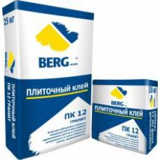 Клей плиточный ПК12  ГРАНИТ, 25 кг, (упак-48 шт) BERGhome СП