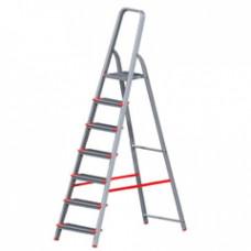 Лестница алюминиевая, 2 секции по  8 ступеней, НОВАЯ ВЫСОТА НВ122