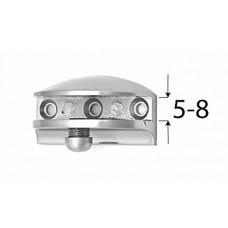 Кронштейн КИВИ, НИКЕЛЬ, 5- 8 мм, (упак-2 шт)
