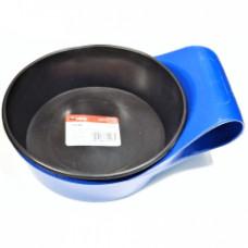 Чаша для гипса 0,5 л CORTE 1518C, резиновая с подставкой