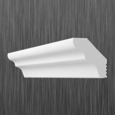 Плинтус декоративный потолочный E- 25, L=2000 мм, БЕЛЫЙ, (упак-220 шт)