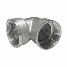 Угольник DN25 ВР/НР, никелированный, TIVOLI