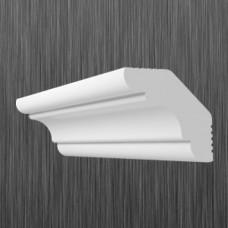 Плинтус декоративный потолочный K- 40, L=2000 мм, БЕЛЫЙ, (упак-200 шт)
