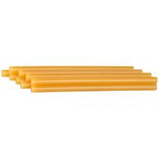Стержни клеевые 11*200 мм, STAYER MASTER 2-06817-T-S06, по стеклу и пластику, ЖЕЛТЫЕ, набор-6 шт