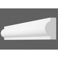 Плинтус декоративный потолочный I- 20, L=2000 мм, БЕЛЫЙ, (упак-360 шт)