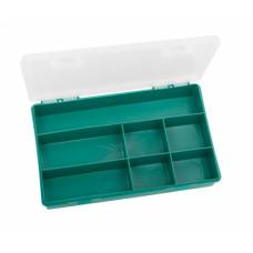 Органайзер для крепежа и инструмента, 240*130*35, пластмассовый, 7ячеек,  ИНСТРАПЛАСТ