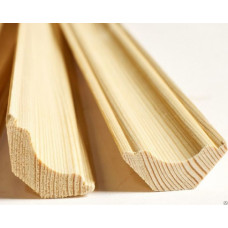 Плинтус деревянный 15*45*2500 мм стык, б/с