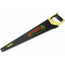 Ножовка по пенобетону 700 мм, STAYER DEEP HARD 2-15097, 2-х компонентная рукоятка, шаг зубьев 20 мм