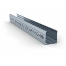 Профиль стеновой ПСС  75*50*3000/0,6 мм, стоечный, (упак-12/252 шт)
