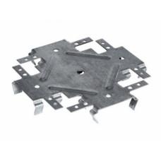 Соединитель профилей, П 60*27*0,5 мм, одноуровневый, КРАБ, (упак-100 шт)