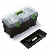 Ящик для инструмента, 320*285*597 мм, GREEN BOX N25G, ЧЕРНЫЙ