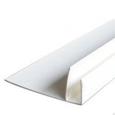 Профиль F-образный, 60* 32*22 мм, длина 3 м, БЕЛЫЙ, (упак-10 шт) МПК