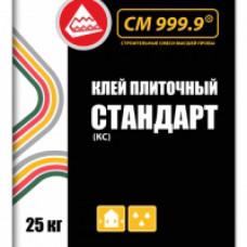 Клей плиточный СТАНДАРТ, 25 кг ( упак-48 шт) СМ 999