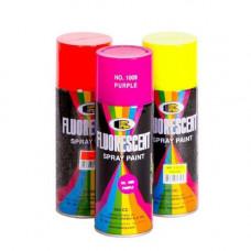 Краска аэрозоль акриловая, флюоресцентная, СИНЯЯ, 400 ml, (упак-12 шт) BOSNY