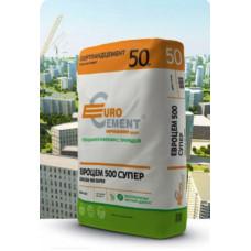 Цемент ЦЕМ I/Д0  42,5Н, ТУ ( без добавок), 50 кг (паллет-34 мешка/1700 кг) ЕВРОЦЕМЕНТ Ст.Оскол