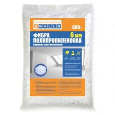 Фибра полипропиленовая  6 мм, 600 гр, (упак-12 шт)