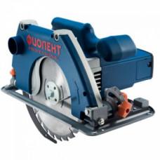 Пила дисковая D210 мм, 2300 Вт, 4800 об/мин, рез 90°-75 мм, 45°-48мм, ФИОЛЕНТ Professional