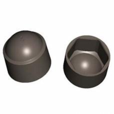 Колпачок на болт/гайку M12/S19, ЧЕРНЫЙ, (упак-200 шт)