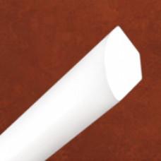 Уголок ВНУТРЕННИЙ вспененный 10*10*2700 мм, БЕЛЫЙ, (упак-30 шт) ИДЕАЛ