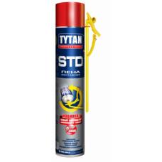 Пена монтажная TYTAN Professional STD, ЭРГО, бытовая, 750 мл, (упак-12 шт)