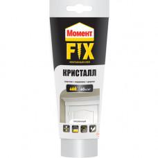 Клей МОМЕНТ Fix, монтажный, КРИСТАЛЛ, 265 мл, (упак-12 шт)