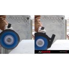 Приспособление-насадка AIRDUSTER 125, для эффективного пылеудаления при работе с УШМ D125