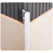 Раскладка наружная под плитку  8*2500 мм, ГОЛУБАЯ, (упак-25 шт) ИДЕАЛ