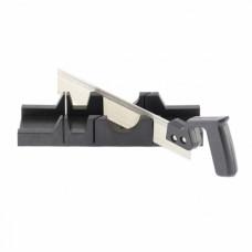 Стусло пластмассовое 300*65 мм, с ножовкой