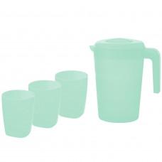 Набор для воды (кувшин 2 л+3 стаканы) ФАЗЕНДА