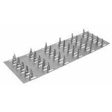 Пластина зубчатая, металлическая 129*305 мм, (упак-80 шт)